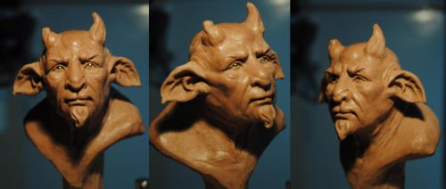Satyr WIP by Intervain