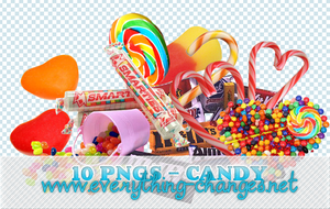 Candies 10 - Pngs by MischiefIdea