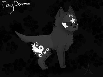 Toy Deamon OC by PurplePupProductions