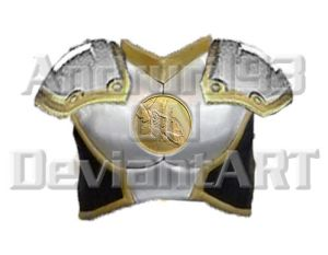 MMPR Gold shield for Journal by Andruril93
