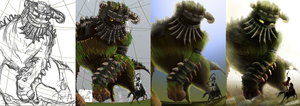 shadow of the colossus WIP by Zita52