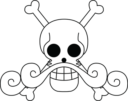 Roger Pirates Flag by Alterax