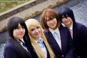 K-on! - Girls by Fuwamii