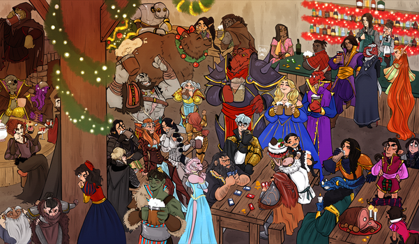 Merry Critmass by AlexielApril