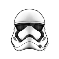 First Order Stormtrooper - Star Wars by sketchygerry