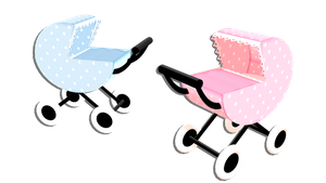 Baby stroller - download dl by HoshichoM