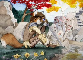 By the Blade by Foxenawolf