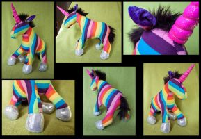 Rainbow Unicorn! by esther-rose-mouse