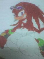 Another Knuckles drawing by manknux5667