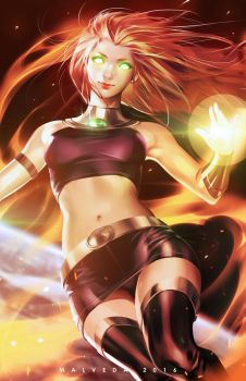 Starfire by alex-malveda