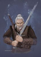 The Witcher - Geralt of Rivia by BrandyWoods
