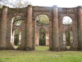 Sheldon Church Ruins 5 by Mourge-stawk