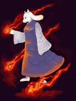 Toriel by Cocoluft
