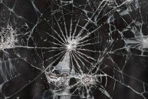 Cracked Glass Texture I by EverythingIsInStock