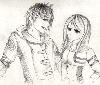 kain and eve. by xMeiji