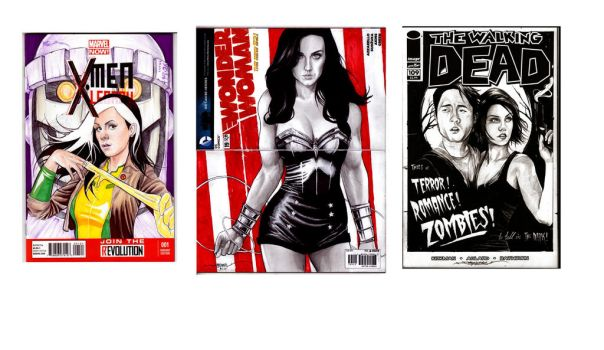 BlankVariant Comic Covers by b2rianLS
