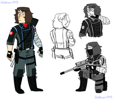 MCU - Avenger!Winter Soldier by Wolfheart343