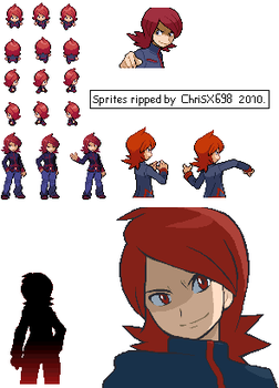 Pokemon HG-SS Sprite Silver by ChriSX698
