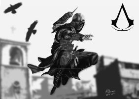 Assassins Creed Poster by adamholmes1989