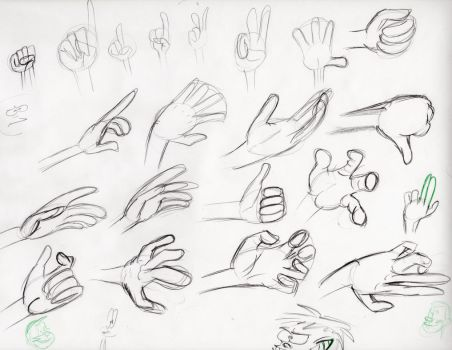 Hands warm-up by RooniMan