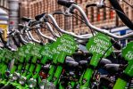 Green Bikes in Amsterdam by BusterBrownBB