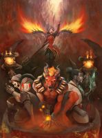 The Gates of Hell by Rae-mell