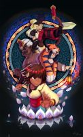 Indivisible Fan Art by sweethaven