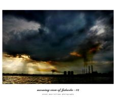 morning view of Jakarta - 04 by idiotgraphic