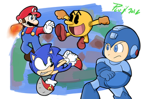 Super Smash Bros. by PoisonLuigi