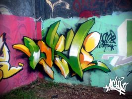 3d wildstyle by LACHI17