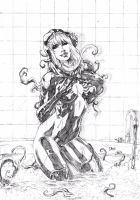 Gwen Stacy/ Venom by Deilson