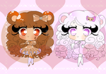 [Cute cheap Adopts] Bear cuties! by StrawberryDani