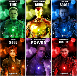 Avengers 4 fan-made posters (text version) by DarthDestruktor
