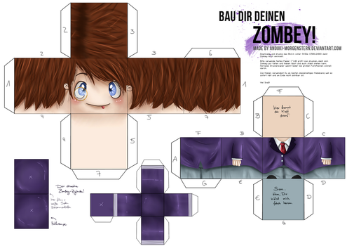 Craft your Zombey! by anouki-morgenstern
