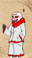 My AU sans has been drawn by nazo677