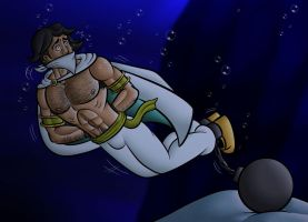 Prince Asad Underwater by Prince-Asad-GID