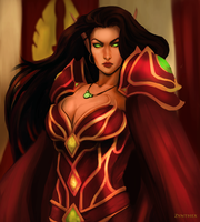 Blood elf. by Zynthex