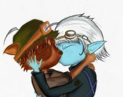 Teemo and Tristana by Andrew-Stealfh