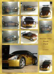 Nissan 350z Stock Pack by Gwathiell