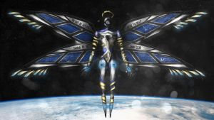 Space Angel 05 'Harael' by SUNSHINE1617
