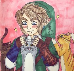 King of the Cats by angry-toon-link