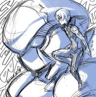Gargantia Sketch by shark-bomb