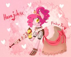 Pinkie in Harajuku Style by PurrrfectArtist