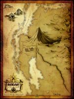 The Tripartitus - Map of Rodan by jocarra