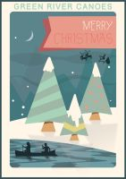 Sinterklaas and Christmas Poster 2015 by houselightgallery