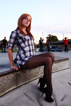 at the skateboard park by blueangel676