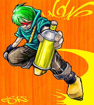 Spray can. by paet