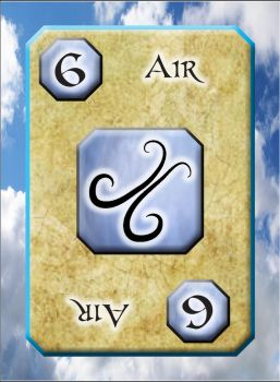 Ungeist Card: Six of Air by Mad-Willy