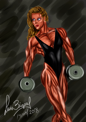 Redraw a FBB Jackie Paisley by Luis3iguel
