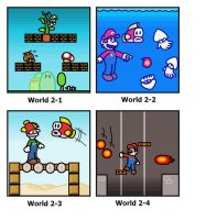 SMB: World 2 by minimariodrawer
